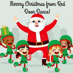 Christmas Break- Studio Closed @ Red Door Dance Academy